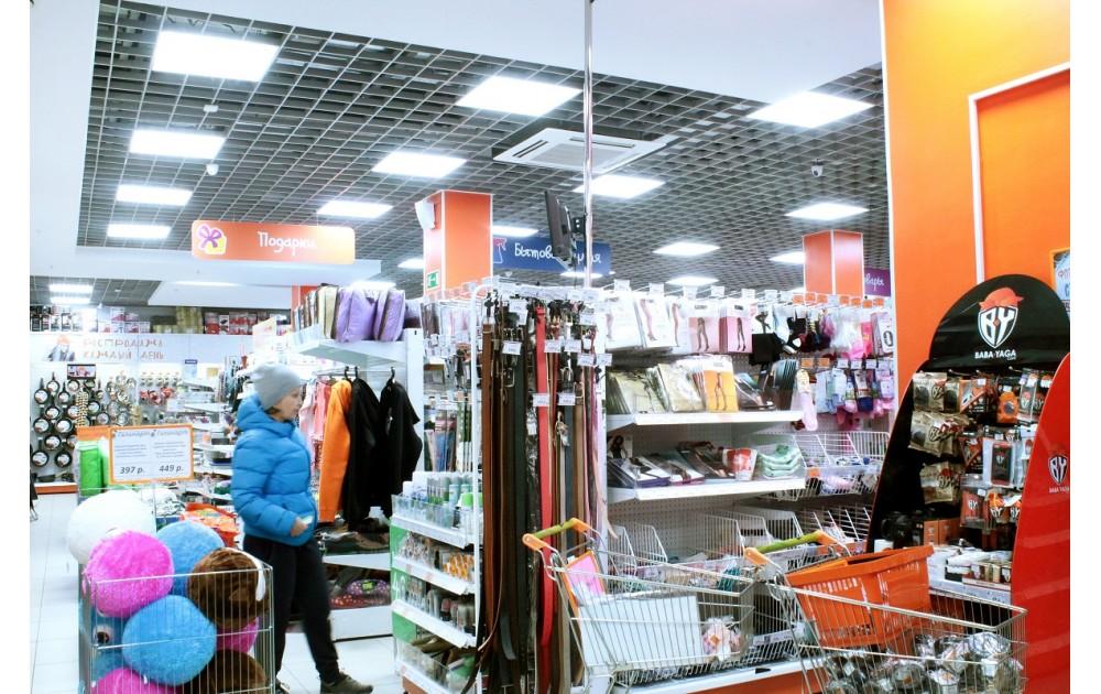 Освещение Галамарт-Ангарск