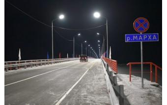 Мост на реке Марха, Якутия