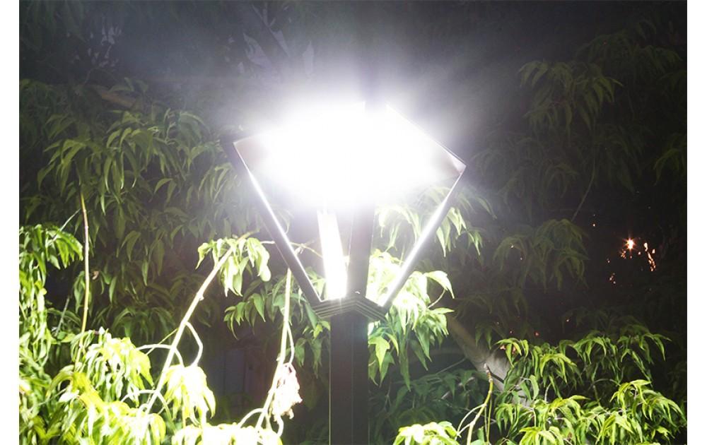 Парковое освещение в Усолье-Сибирском