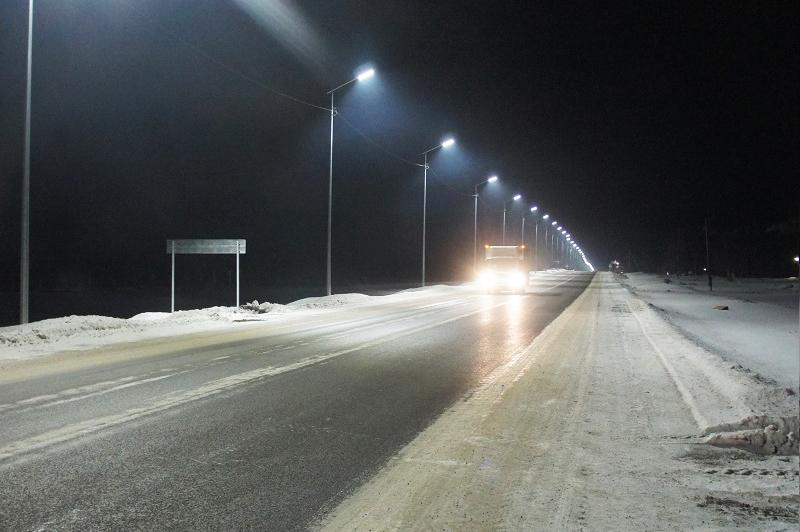 Автодорога Р419, с. Александровка